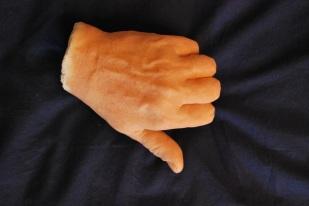 tirage gélatine et mousse polyuréthane souple à partir d'un moule en silicone
