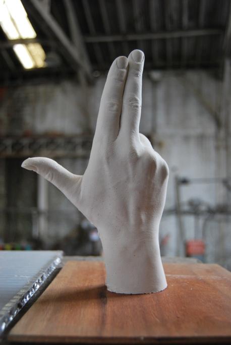 Prototype, titage en plâtre